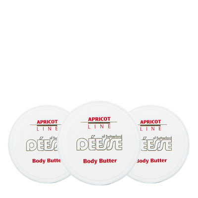 100400 - Mini body butter with apricot set of 3pcs, 20ml
