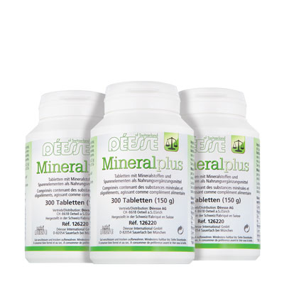 100160 - Mineral plus Tabletten, 3er-Set