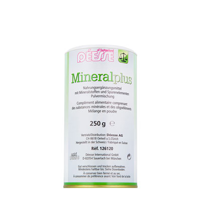 126120 - Mineral plus 250 g