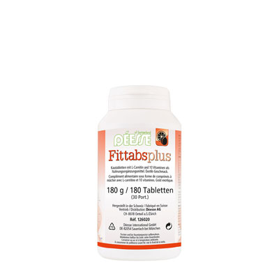 126020 - Fittabs plus 180 tablets (180 g)