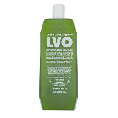 127220 - LVO bath/shower gel verte 1 liter