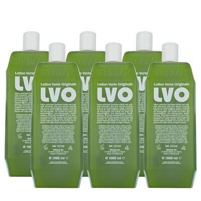 127230 - LVO bath/shower gel verte box 6x1 liter